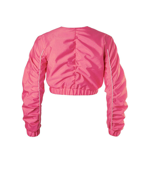 Juicy Cropped Jacket Dragonfruit Pink