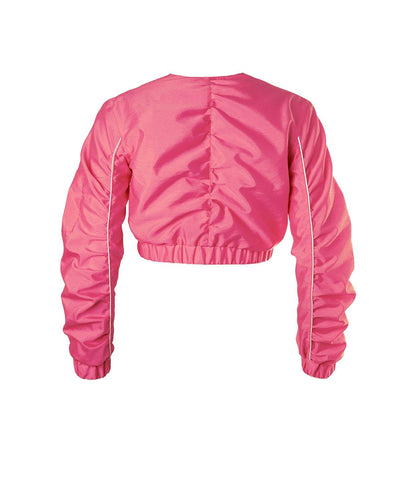 Juicy Cropped Jacket Dragonfruit Pink - Mahla Clothing