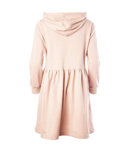 Ragna Hoodie Dress Light Pink - Mahla Clothing