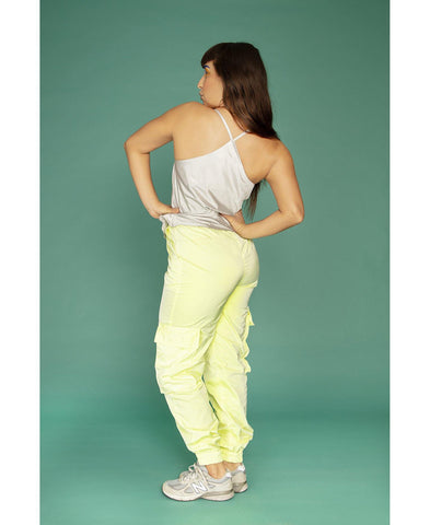 Juicy Cargo Pants Glowing Lemon