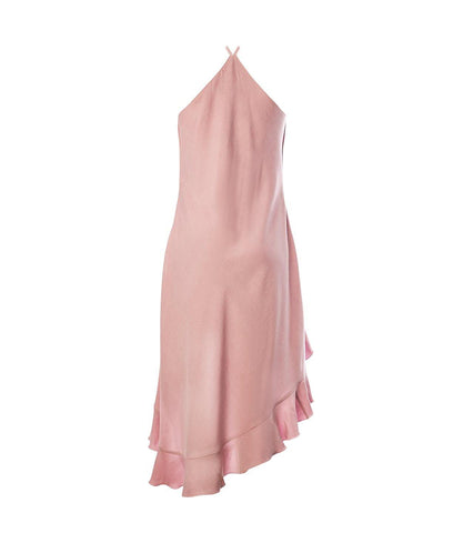 Valerie Dress Peony Pink - Mahla Clothing