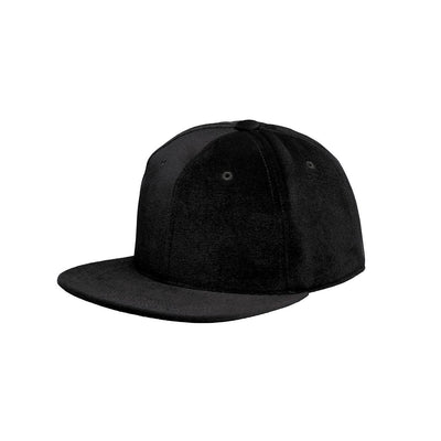 Velvet Cap Black - Mahla Clothing