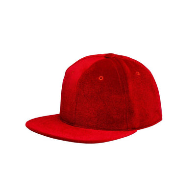Velvet Cap Red - Mahla Clothing