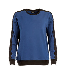 Wavy Sweatshirt Royal Blue