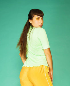 Elise T-shirt Mint Green