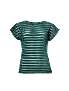 Dusk Blouse Emerald Green