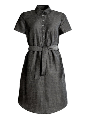 Ulpu Dress Gravel Grey
