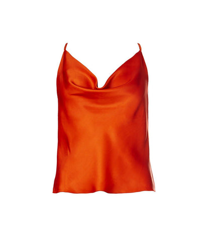 Valerie Top Amber Orange