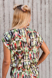 Ninne Playsuit Multicolor - Mahla Clothing