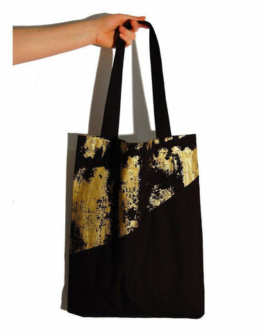 Kulma Tote Bag Black&Gold