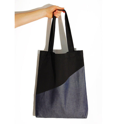 Kulma Tote Bag, Misty Blue - Mahla Clothing