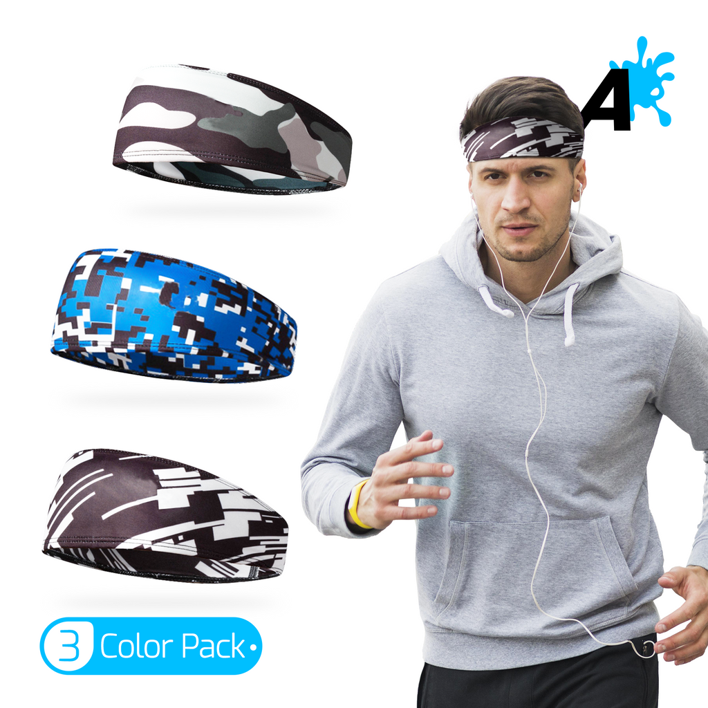 [US] Alien Pros Camouflage Headbands for Men