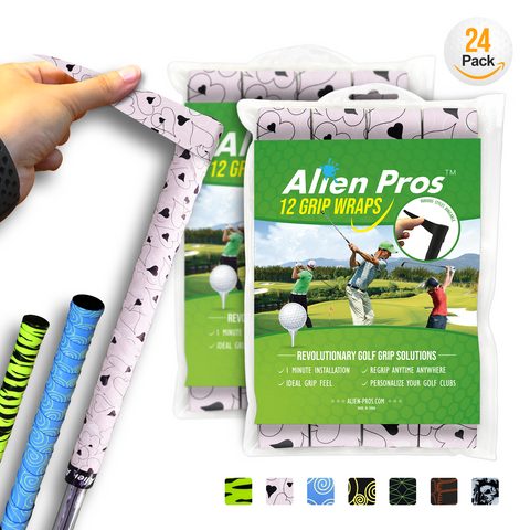 [US] Alien Pros Golf Grip Wrapping Tapes G-Tac (24-Pack)