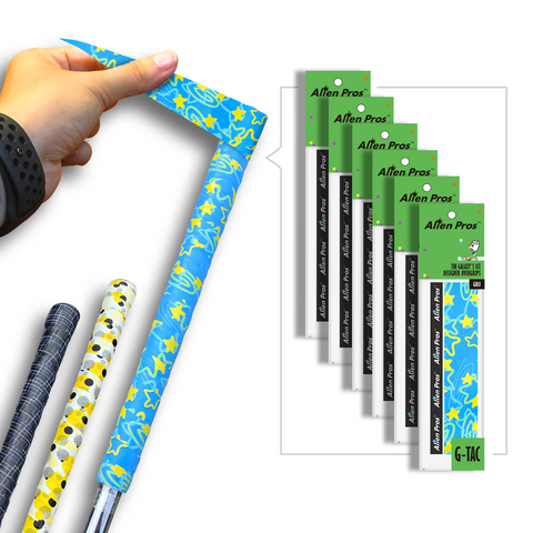 [US] Alien Pros Golf Grip Wrapping Tapes G-Tac (6-Pack)
