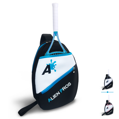 [US] Alien Pros Lightweight Tennis Sling Backpack for Your Racket and Other Essentials