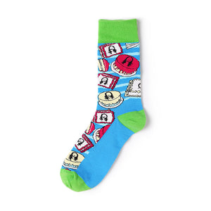 Unisex Funky Designer Sports Socks