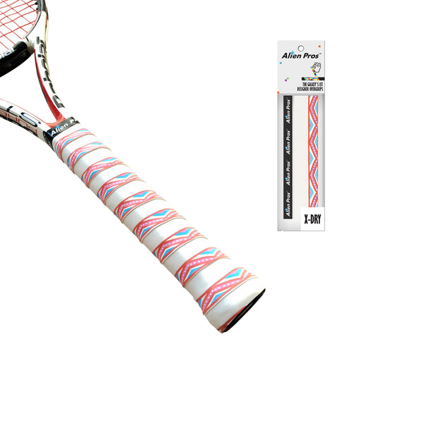 [X-Dry Plus] Tennis Overgrips (Play Theme - 10 Styles)