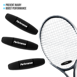 Performance Tennis Racket Dampeners (3-Pack)