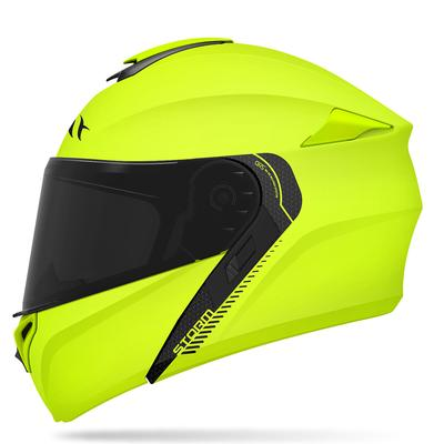 MT Storm Flip Up Helmet - Fluo