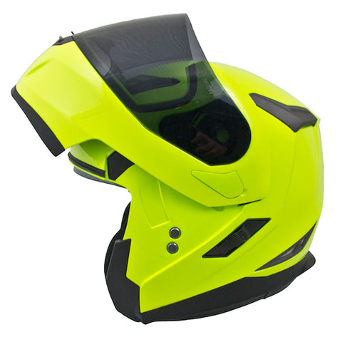 MT Flux Flip Up Helmet - Fluo - size S