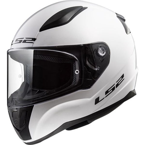 LS2 Rapid White Helmet