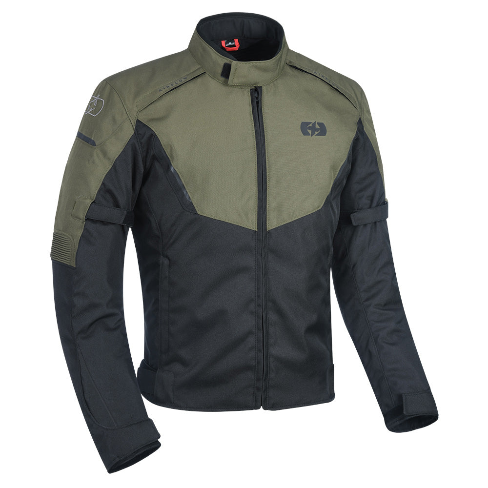 Oxford Delta Jacket Black & Green
