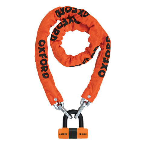 Oxford HD Chain & Lock Orange