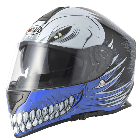 Vcan V127 Hollow Helmet - Blue