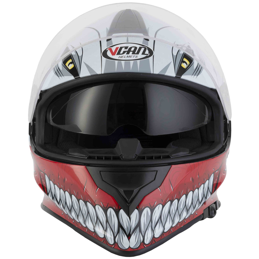 Vcan V127 Hollow Helmet - Red