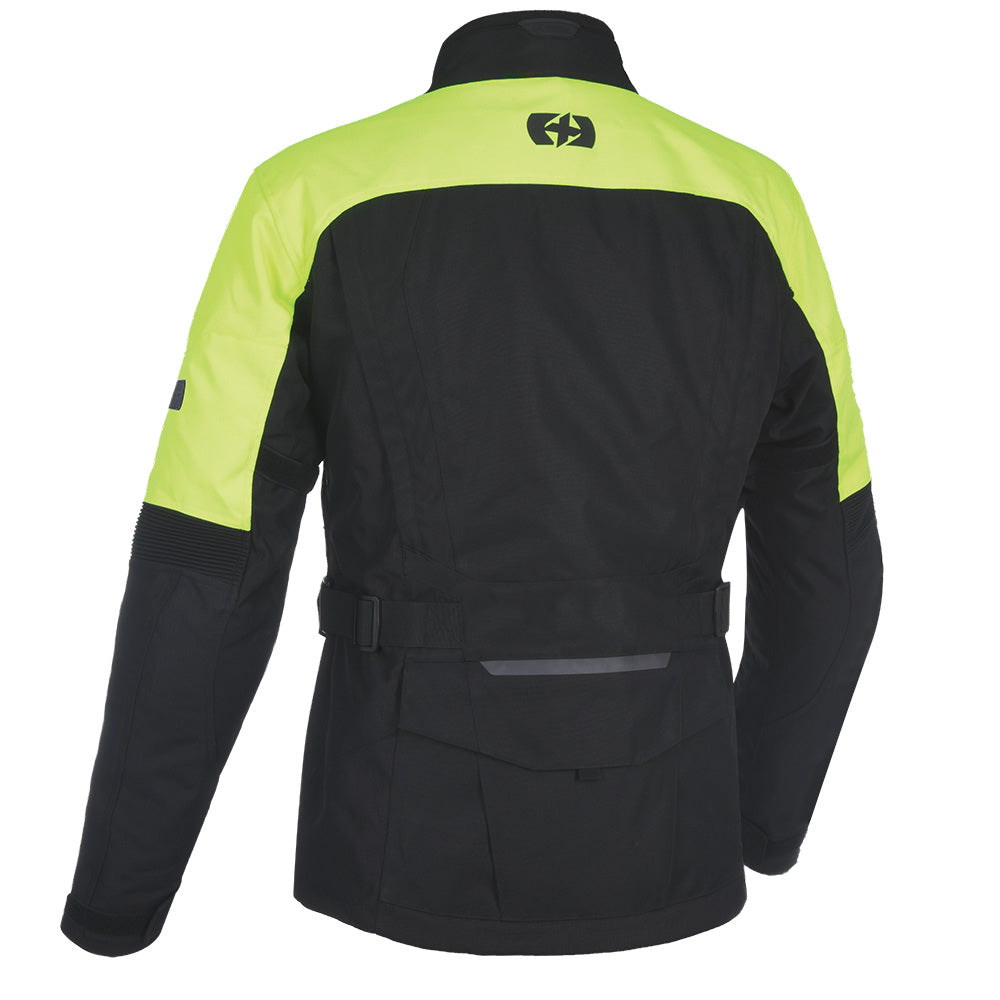 Oxford Continental Advanced Jacket Black Fluo