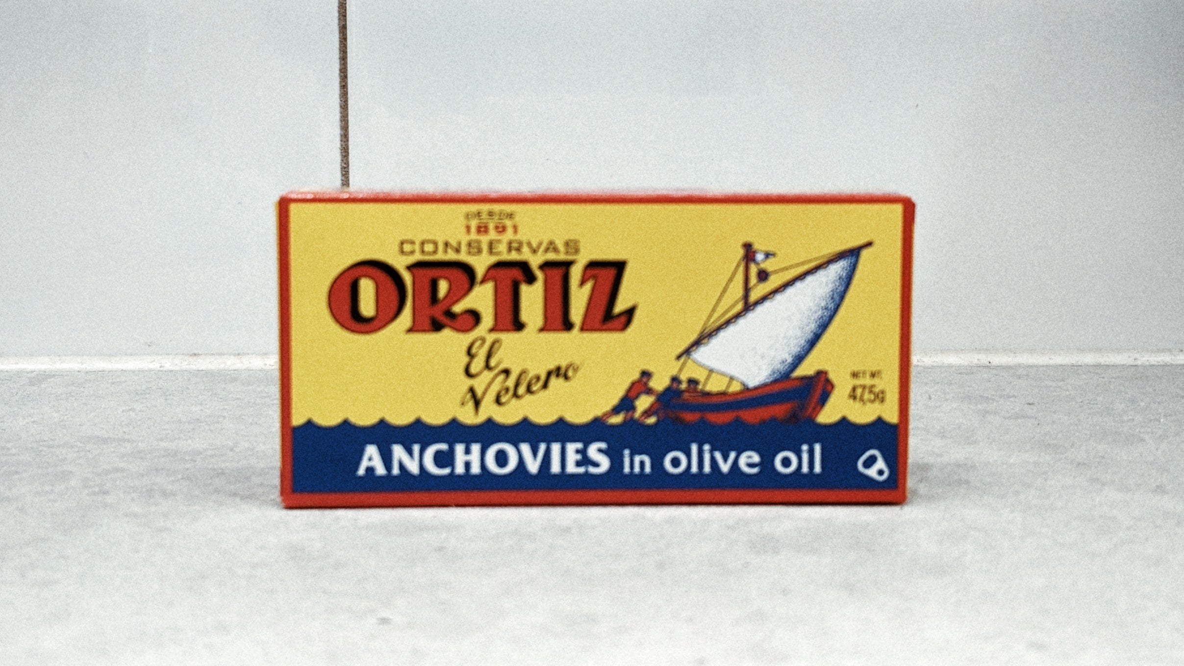 Ortiz Anchovies in Olive Oil 47.5g