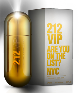 Carolina Herrara 212 VIP  Eau De Parfum Spray (For Women)