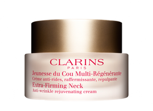 Clarins Extra-Firming Neck Anti-Wrinkle Rejuvenating Cream - 50ml