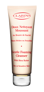 Clarins Gentle Foaming Cleanser With Shea Butter For Dry/Sensitive Skin