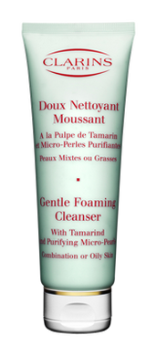 Clarins Gentle Foaming Cleanser With Tamarind For Combination/Oily Skin - 125ml