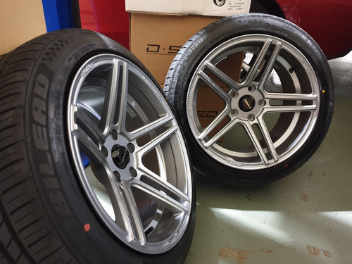 Dspeed DS03 17 & 18inch +15 5x114.3 Wheel and Tyre package