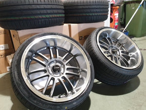 Dspeed DS01 Wheels in Gunmetal spoke