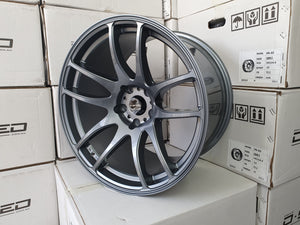 Dspeed DS-02 18x9.5 +30 5x120 Dark Gunmetal