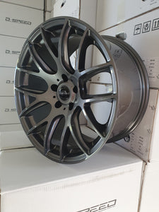 D-speed DS-05 18x9.5 +22 5x114.3 Dark Gunmetal