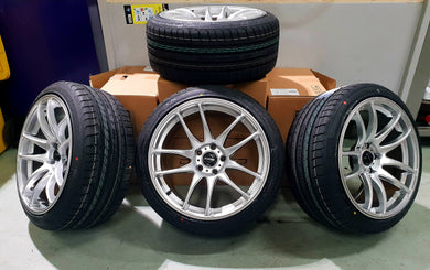 Dspeed DS02 18inch Wheel & Tyre Package