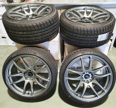 D-speed DS-02 19inch Wheel and tyre packages