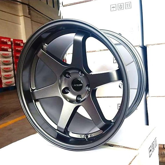 D-speed DS-04 19x10.5 +22 5x114.3 Dark Gunmetal