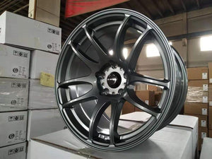 Dspeed DS-02 17x9.5 +20 5x114.3 Dark Gunmetal