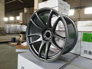 Dspeed DS-02 19x9.5 +25 5x114.3 Dark Gunmetal