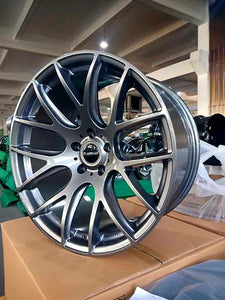 D-speed DS-05 19x9.5 +22 5x114.3 Dark Gunmetal