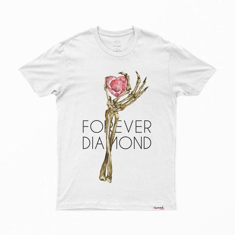 CAMISETA DIAMOND HEART OF - Matriz Skate Shop