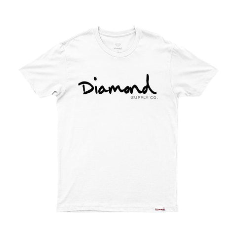 CAMISETA DIAMOND OG SCRIPT | Z15DPA01 - Matriz Skate Shop