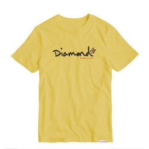 CAMISETA DIAMOND PARADISE OG SCRIPT - Matriz Skate Shop
