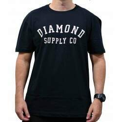 CAMISETA DIAMOND STENCIL | D20DMPA024 - Matriz Skate Shop