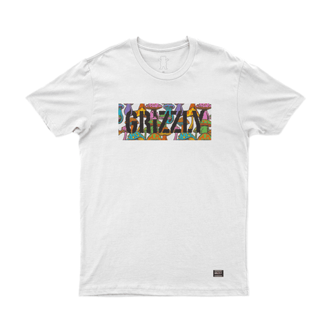 CAMISETA GRIZZLY FUNGI BOX - Matriz Skate Shop